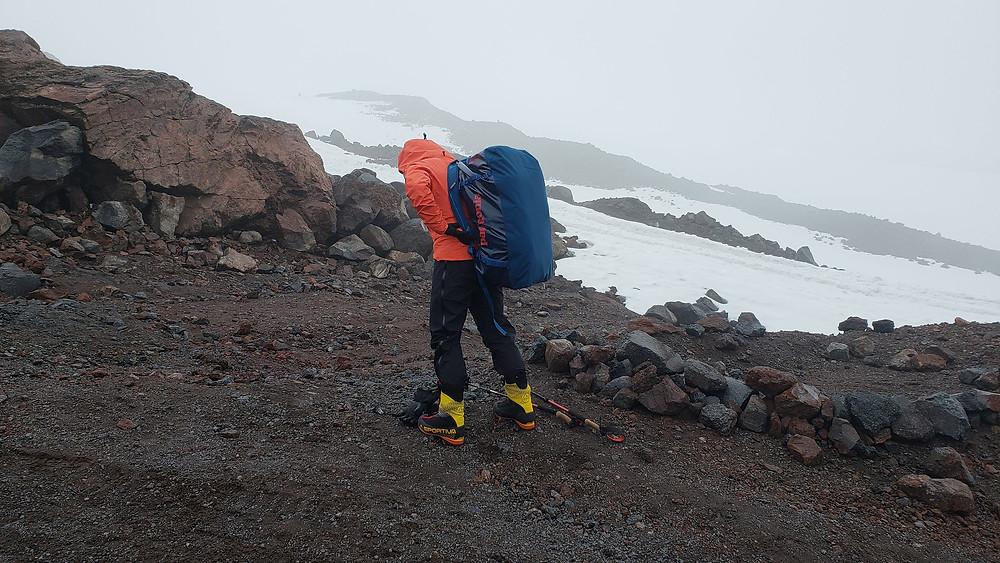 Janelle Routhier on Mt. Elbrus