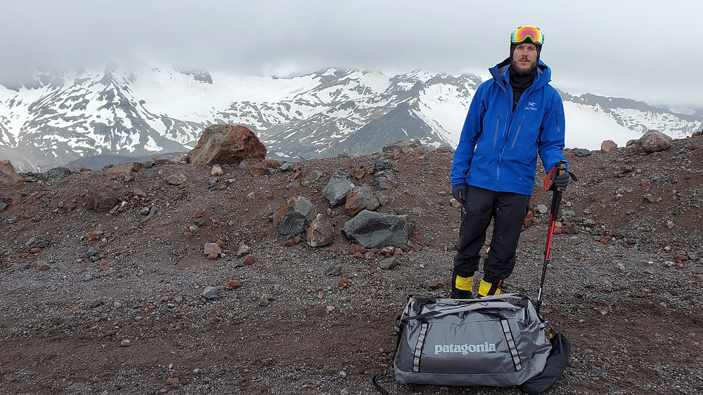 Frank Routhier on Mt. Elbrus