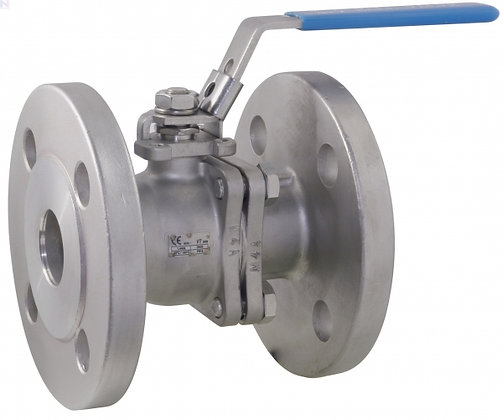 SS Ball Valve Flanged Type
