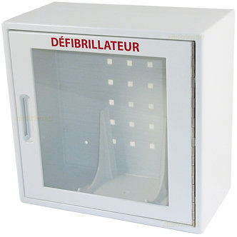 Armoire pour défibrillateur
