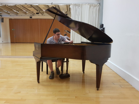 Andy's career as a Piano Tuner gets kick start!