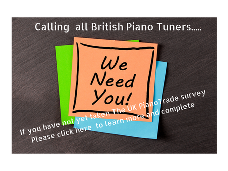 The  UK Piano Trade needs You!