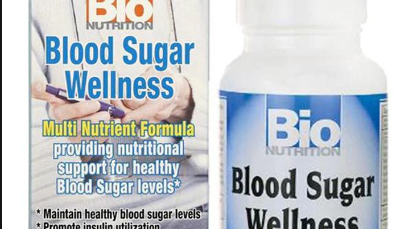 Bio Nutrition Blood Sugar Wellness Healthy Blood Sugar Level 60 veguct