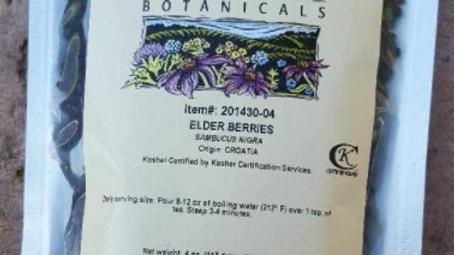 NEW Starwest Botanicals Elder Berries (Sambucus nigra) 4 Ounces