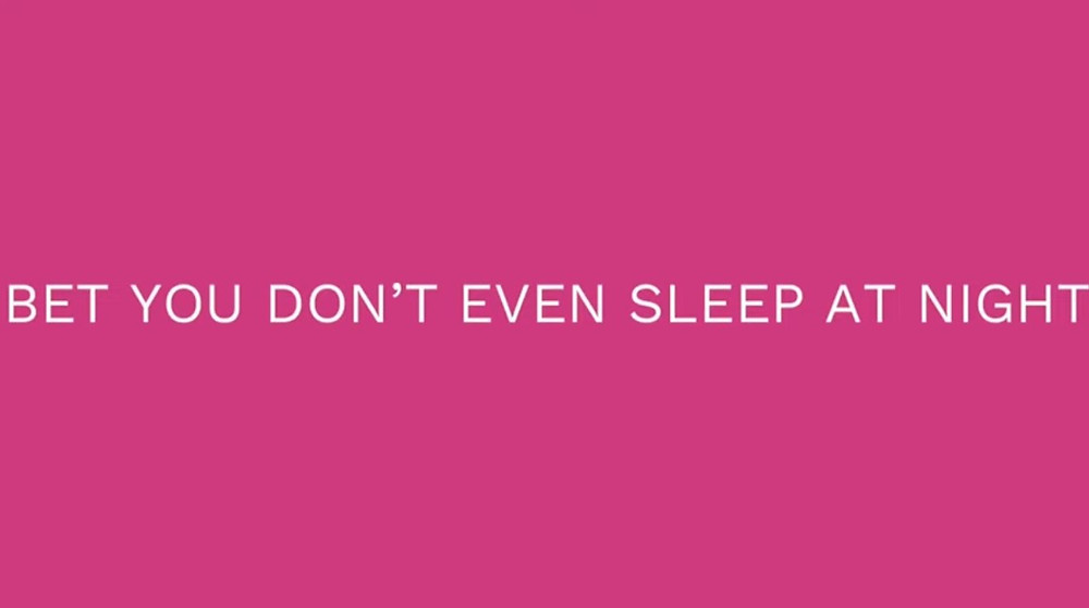 Bet You Don't Even Sleep At Night title screen