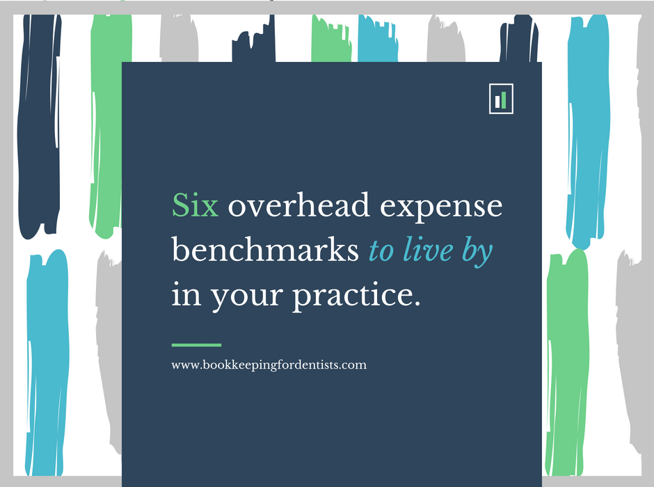 Dental Overhead Expense Benchmarks, Bookkeeping for Dentists