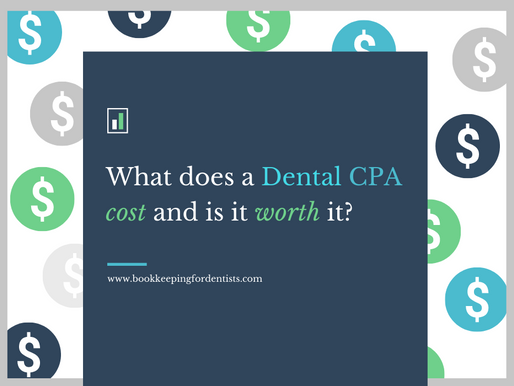 What does a Dental CPA cost?