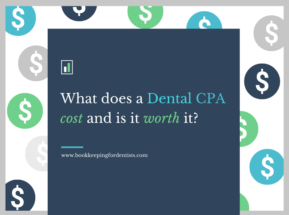 What does a Dental CPA cost