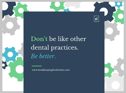 Don't be like other dental practices.