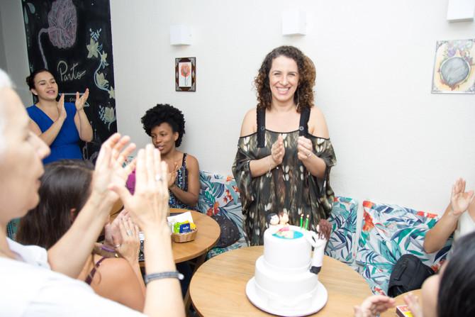Aniversário Lu no Café com Placenta - como foi?