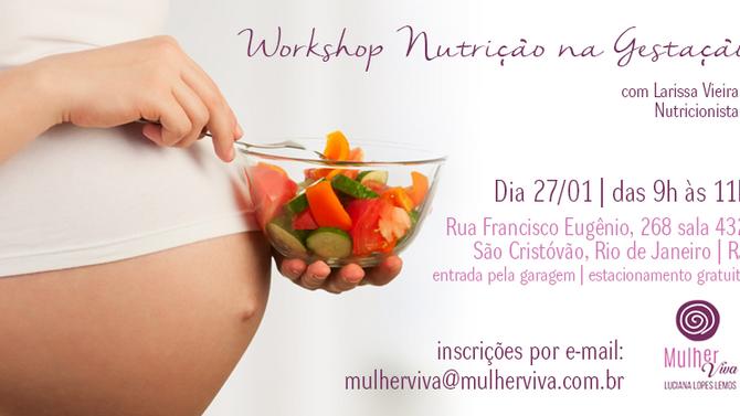 Workshop - Nutrição na Gestação