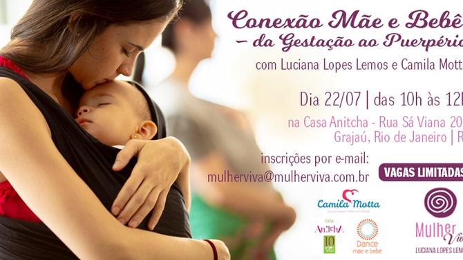 Workshop: Conexão Mãe e Bebê – da Gestação ao Puerpério