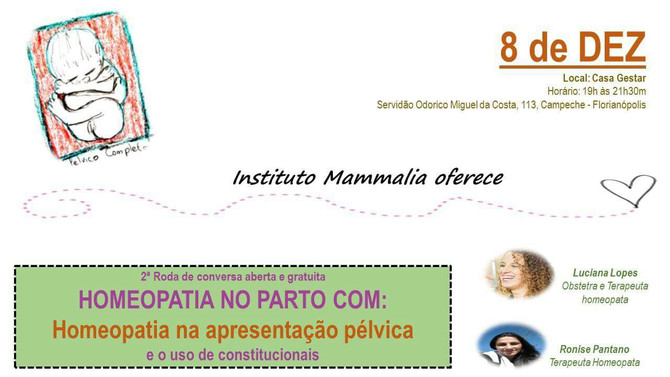 Roda de Homeopatia no Parto
