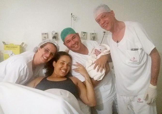 Relato de parto: Gisele e Joana