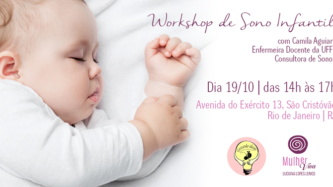 Workshop de Sono Infantil