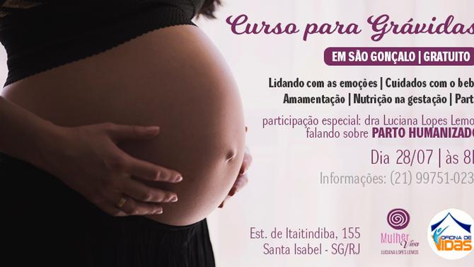 Curso para grávidas
