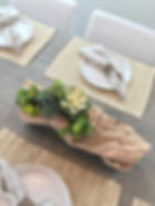 Natural Texture Dining Table