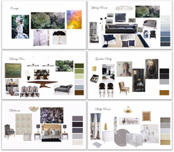 Moodboard for Hong Kong Client