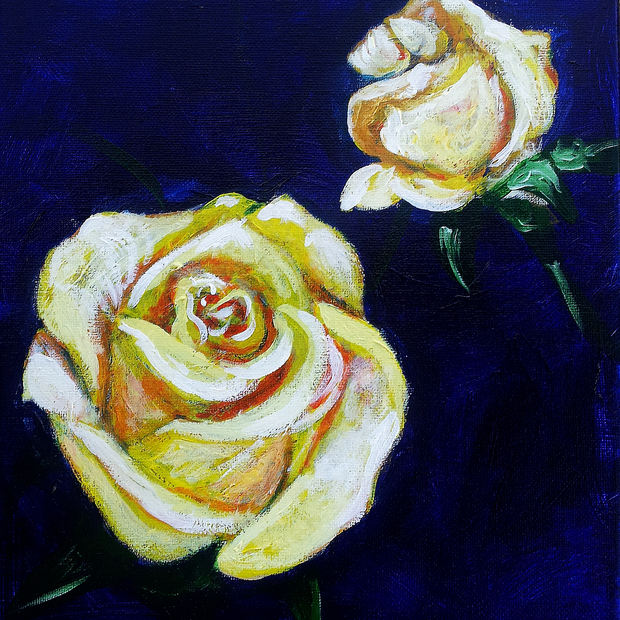 """Lemon Rose"""