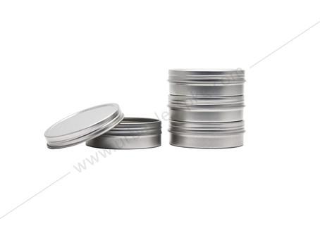 2oz Screw Top Tin Container
