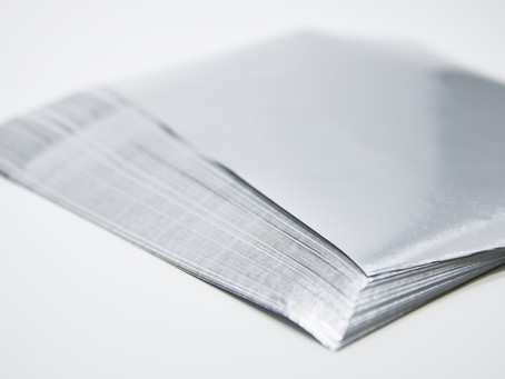 Foil with Paper back for Confectionery Products and Chocolate Bars