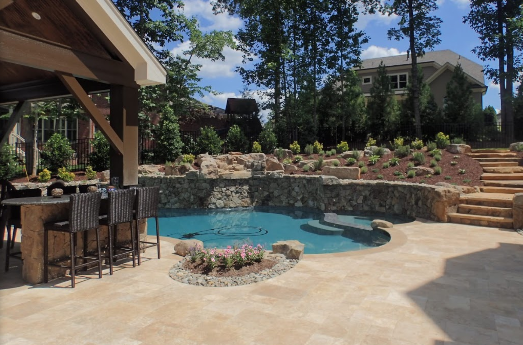 Landscaping patio cary nc