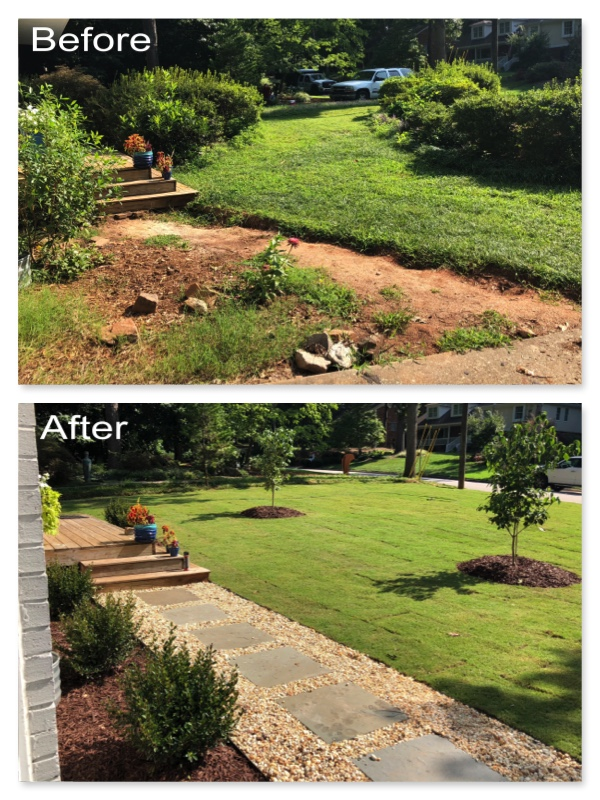 Landscape Design & Install Raleigh NC