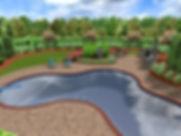 3D+Backyard+Landscape+Design+Snellville+
