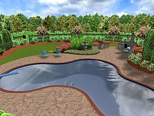 3D+Backyard+Landscape+Design+Snellville+