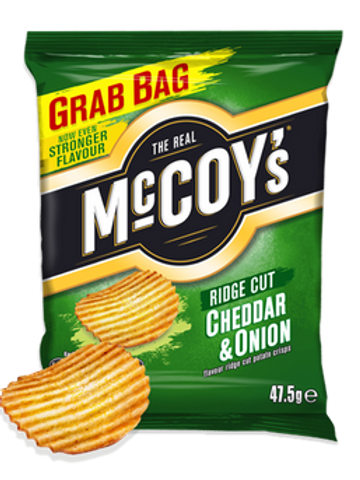 Mc Coys Cheddar & Onion Grab Bag