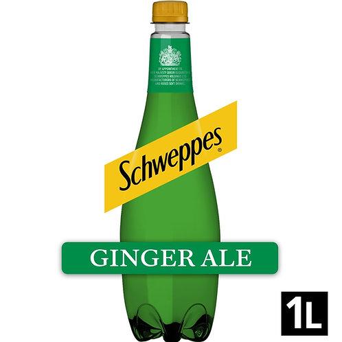 Schweppes Ginger ale 1ltr