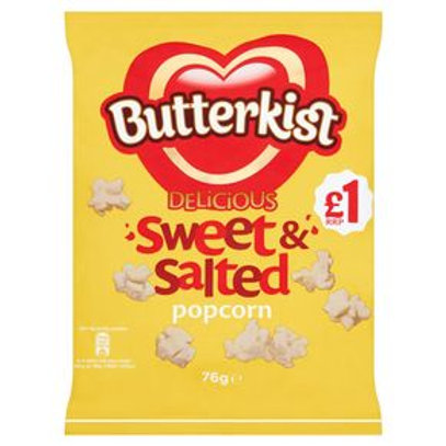 Butterkist Delicious Sweet & Salted Popcorn 76g