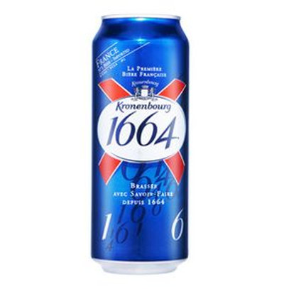 Kronenbourg 1664 French Beer