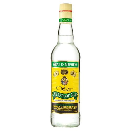 Wray & Nephews Over Proof White Rum