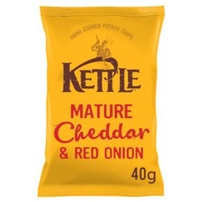 Kettle Chips Cheddar Cheese & Onion