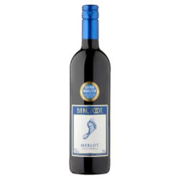 Barefoot Merlot Red Wine 700ml/70cl