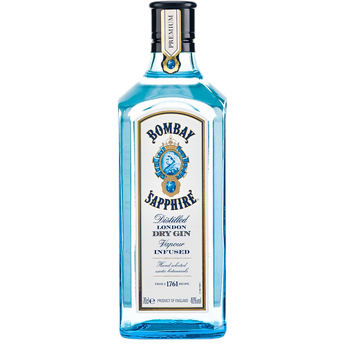 BombaySaphire London Dry gin 700ml/70cl