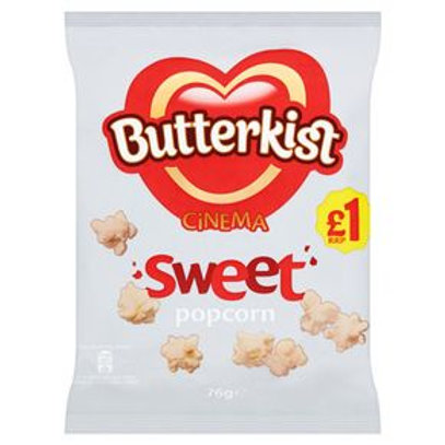 Butterkist Cinema Sweet Popcorn 76g