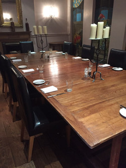 Awaiting our guests for P&I Lunch