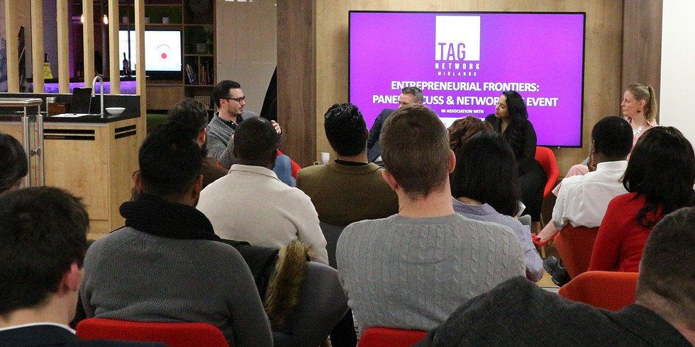 ONLINE ENTREPRENEURIAL FRONTIERS SESSION: FROM INTRAPRENEUR TO ENTREPRENEUR