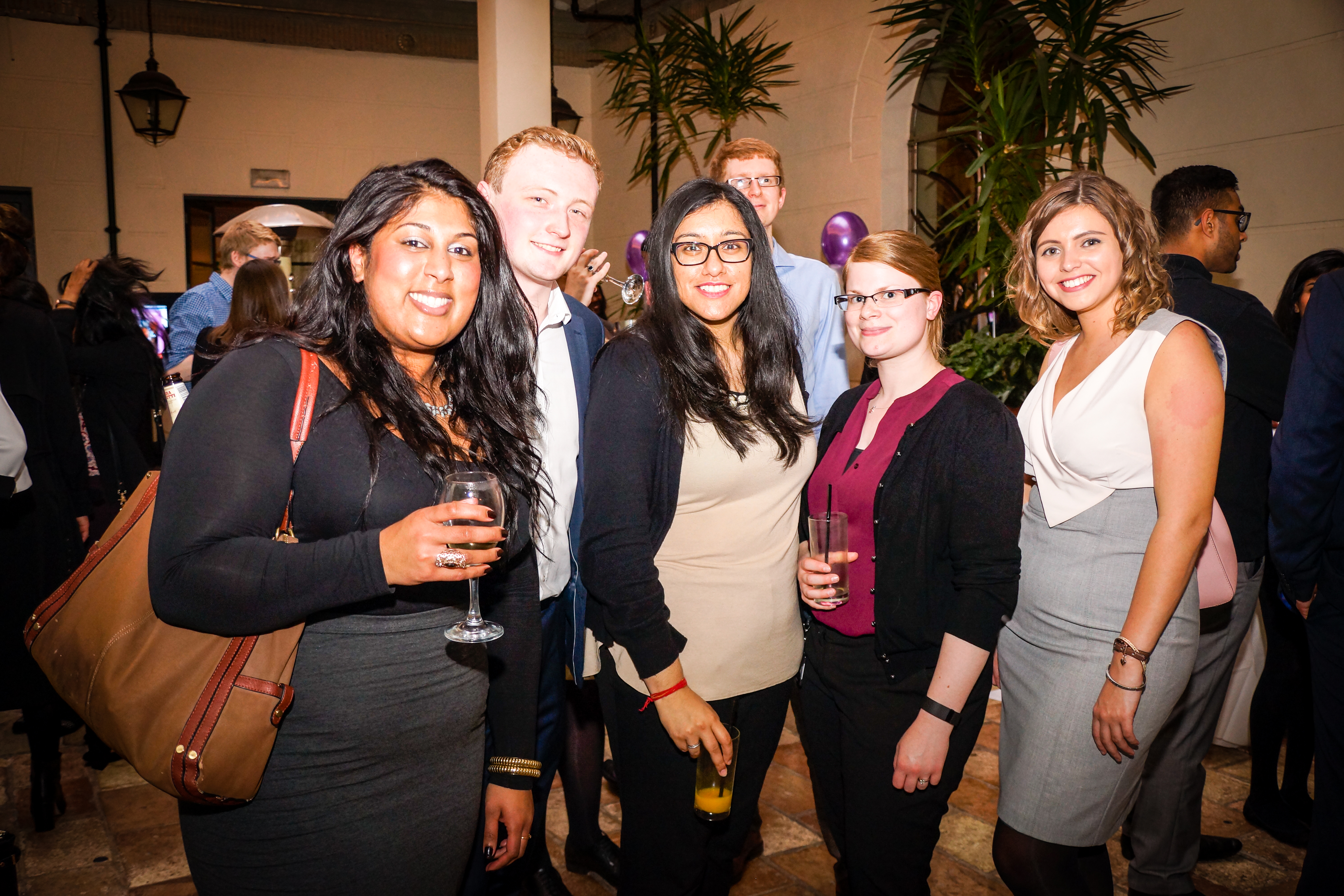 Young professionals networking