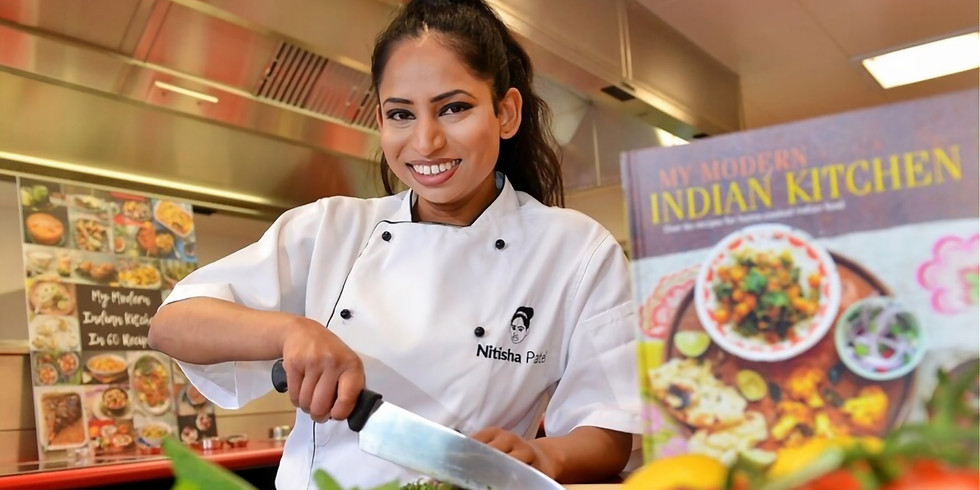 SUPPER CLUB SOCIAL: Cook-Along with Chef Nitisha Patel