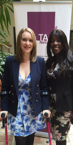Danielle Brown MBE & Denise Morris