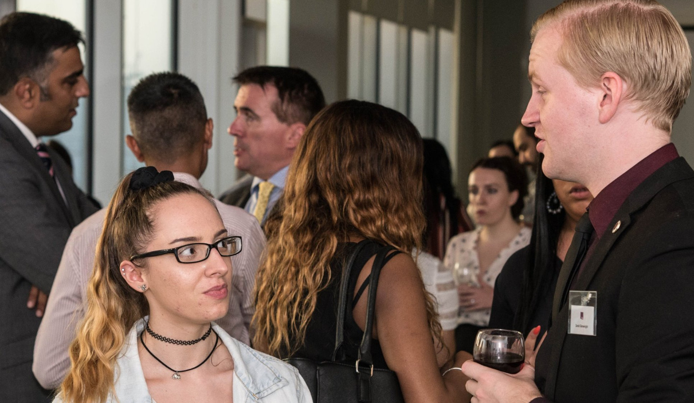 Young professionals in the Midlands