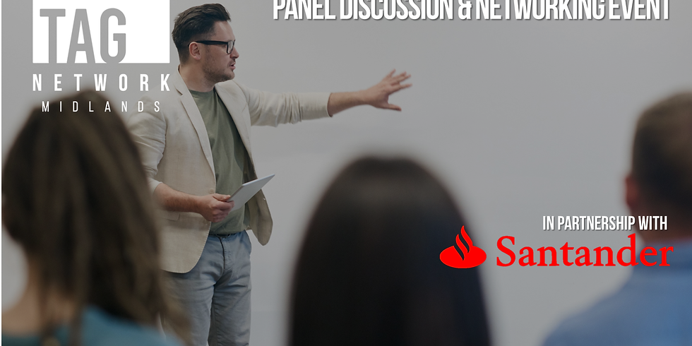Entrepreneurial Frontiers Panel Discussion in association with Santander
