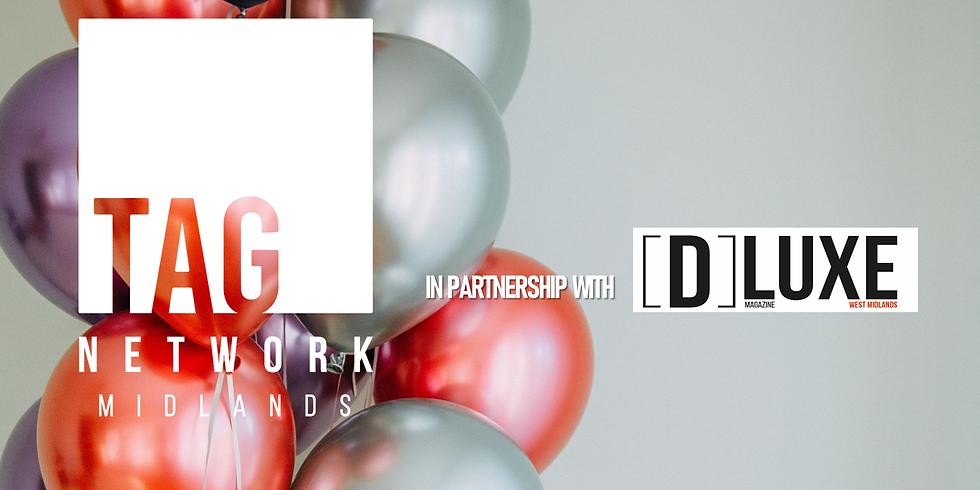 TAG Network Midlands 6th Birthday Celebration in association with DLUXE Magazine (Music Quiz & DJ Set)