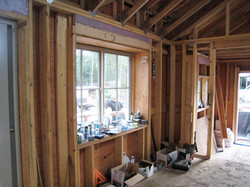 Bay window framing