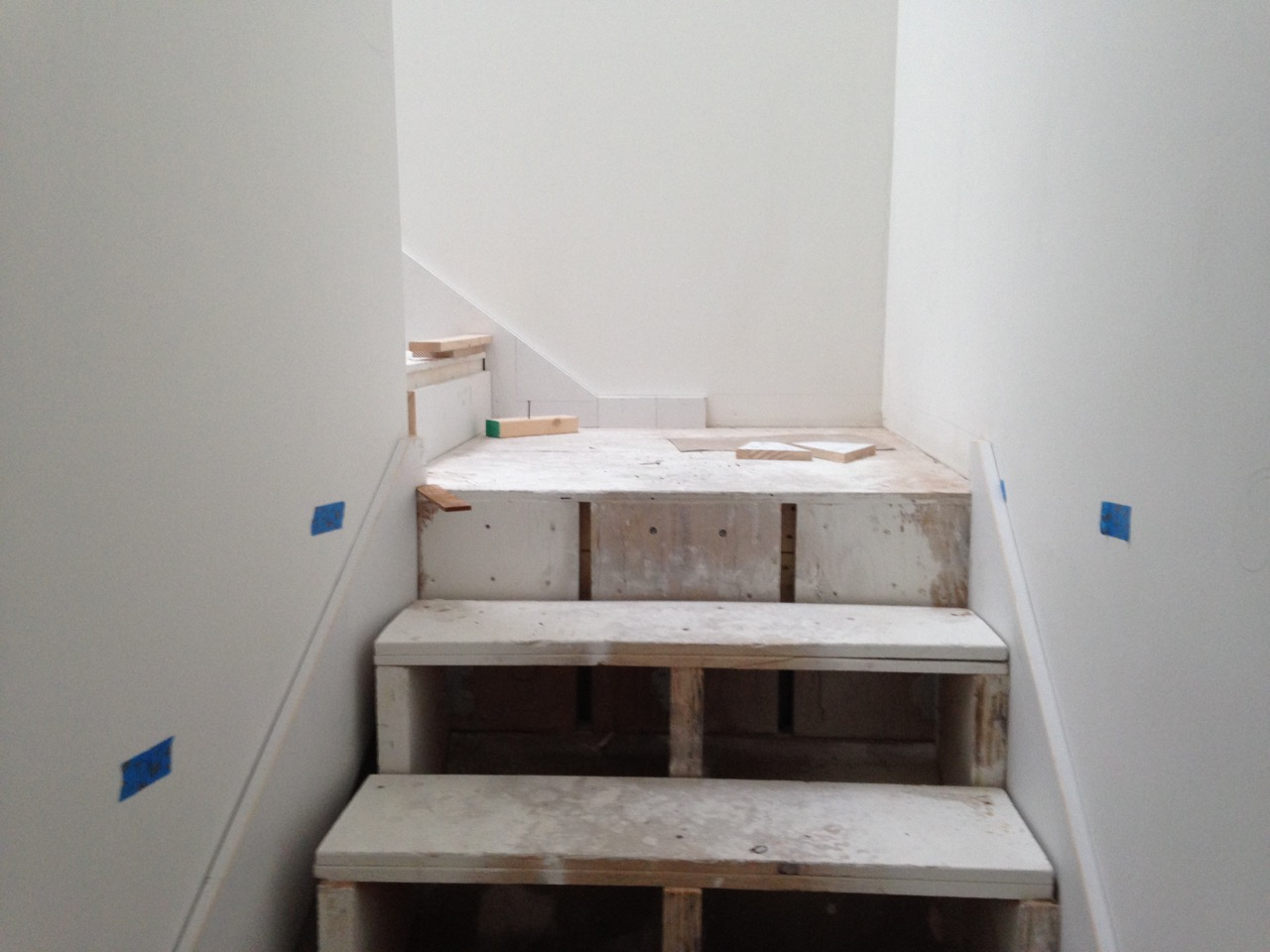 Stair in process