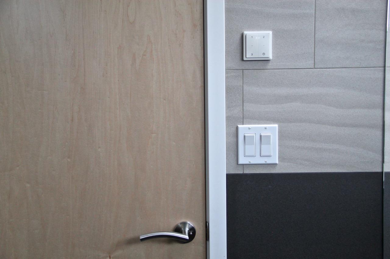 Bath door