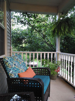 Veranda - pool view